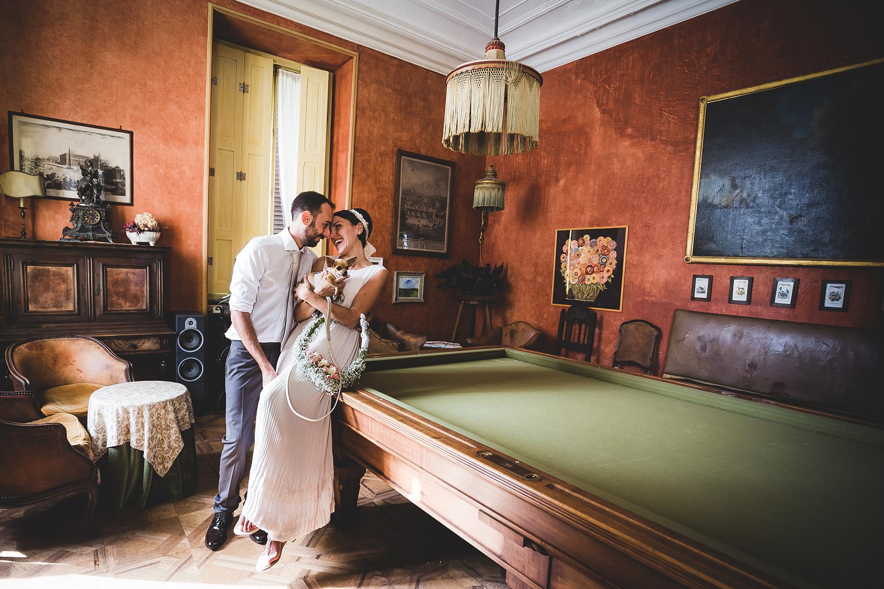 Domenico e Sara Villa Cernigliaro